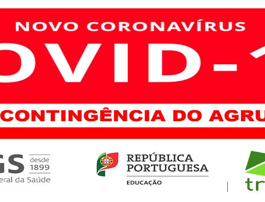 COVID-19 | PLANO DE CONTINGÊNCIA DO AGRUPAMENTO