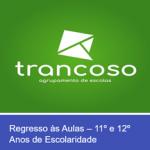 REGRESSO ÀS AULAS COM SEGURANÇA!