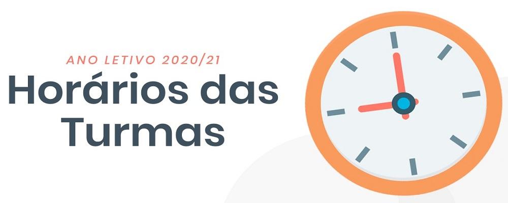 INFORMAÇÃO HORÁRIOS | ANO LETIVO 2020/21