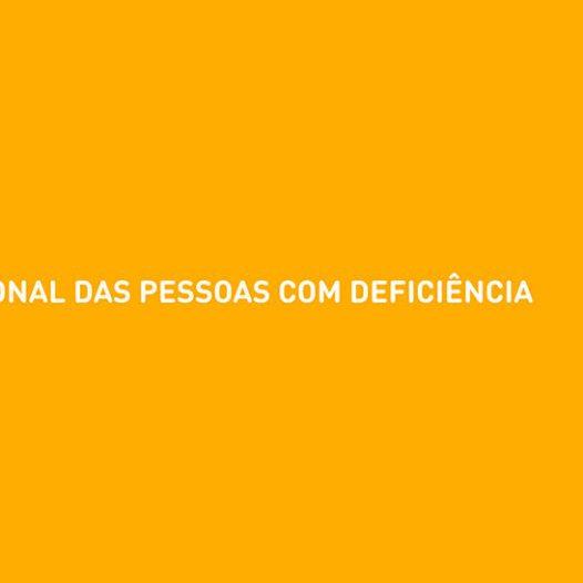 Dia Internacional da Pessoa com Deficiência | 3 de Dezembro
